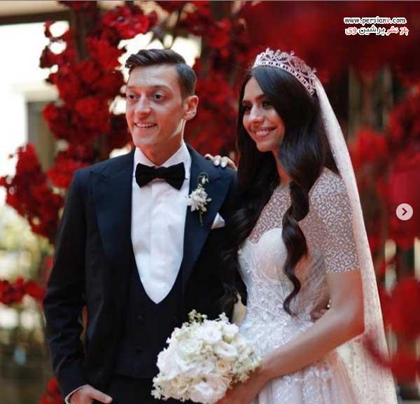 عروسی امینه گولشه