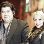 سالار عقیلی و همسرش روی فرش قرمز جشنواره موسیقی فجر +عکس