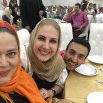 سلفی زیبای بهاره رهنما و فاطمه گودرزی و پسرش در یک جشن
