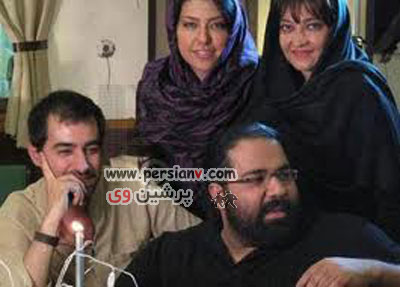 عکس: رضا صادقی و همسرش در کنار شهاب حسینی و همسرش!