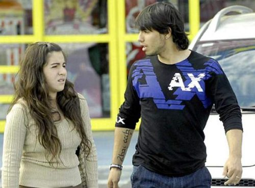 دختر مارادونا و دامادش (عکس)