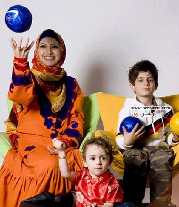 عکسهای خواهر زاده های محمدرضا گلزار به همراه ملیکا زارعی