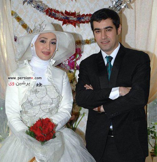 عکس های دیدنی:آقا داماد شهاب حسینی و عروس خانم …ببینید !!