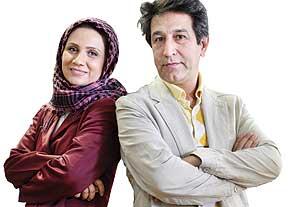 عکس کارگردان مشهور تلویزیون با همسرش !