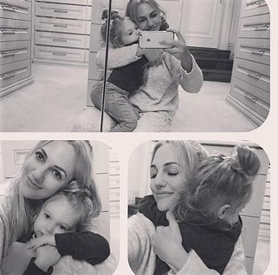عکس جدید مریم اوزرلی (بازیگر نقش خرم سلطان) و عشق کوچولویش که خیلی هم شبیه خودش شده