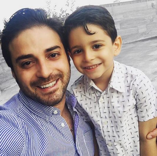 بچه داری به سبک خوانندگان مشهور ایرانی / عکس های خوانندگان به همراه فرزندانشان +تصاویر