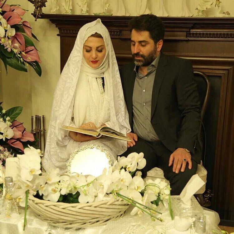 انتشار تصاویر مراسم ازدواج ژیلا صادقی! مجری کشورمان در لباس عروس و توضیح در مورد ممنوع الکاری