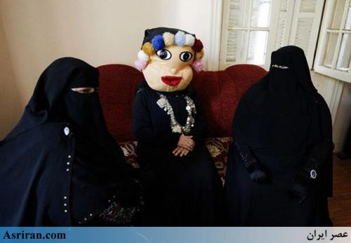 صحنه جالب برنامه کودک شبکه تلویزیونی زنان نقاب دار مصر