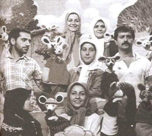 فاطمه معتمدآریا ۲۸ سال پیش / عکس