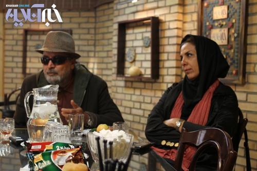 عکس : سیروس مقدم در کنار همسرش الهام غفوری