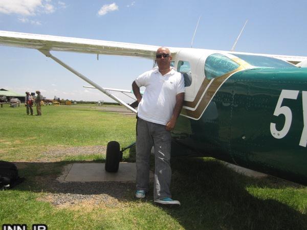 سقوط هواپیمای ملخ دار حامد بهداد!+عکس