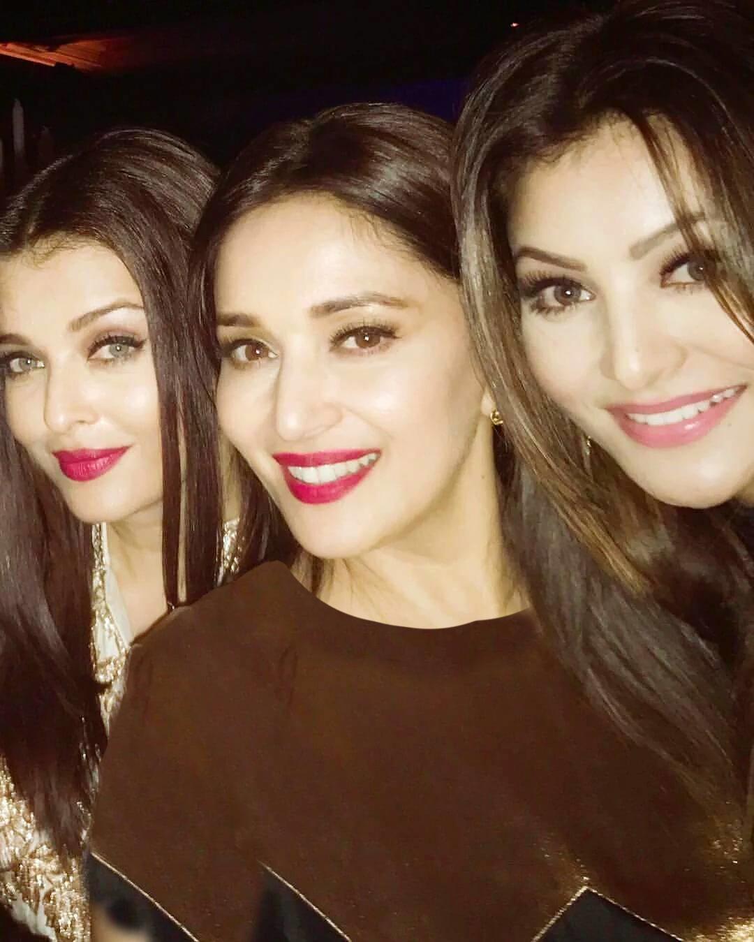 آیشواریا رای و بازیگران مشهور خانم در یک جشن تولد +عکس