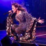 لباس بسیار زیبای جنیفر لوپز در کنسرتش +عکس