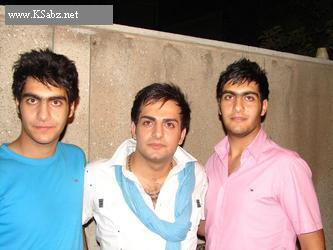 عکس : حامد کمیلی و برادرش