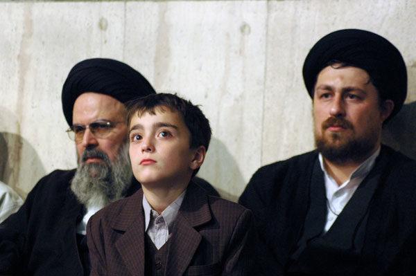 عکس: سیداحمد خمینی، فرزند سیدحسن خمینی