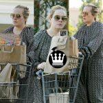 تیپ ساده ادل هنگام خرید در محله پولدارهای کالیفرنیا +عکس