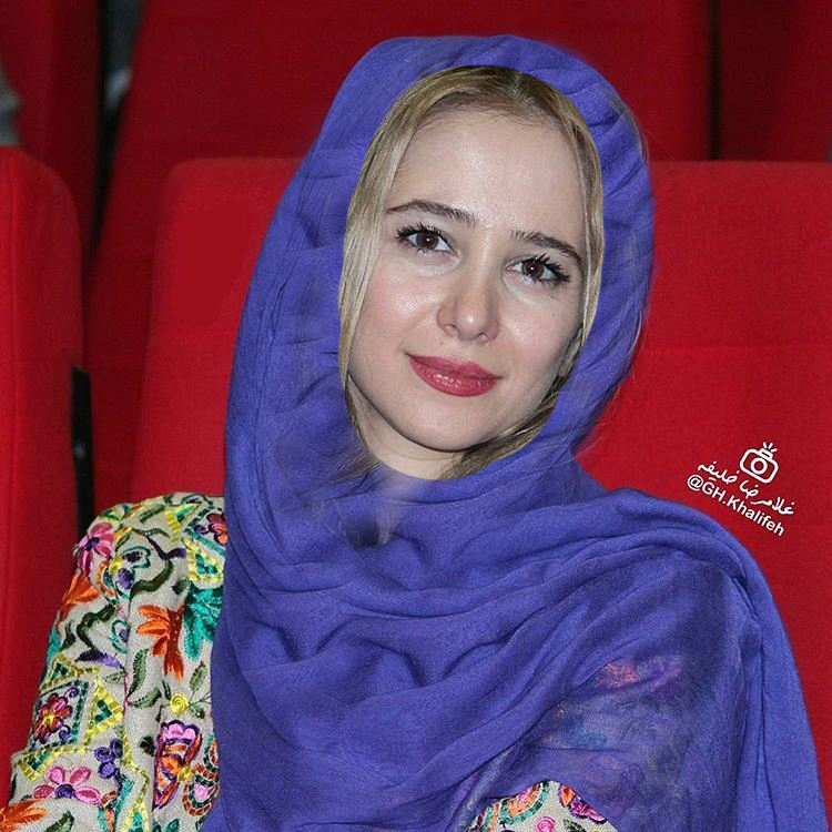 عکس زیبای الناز حبیبی در پردیس سینمایی کوروش