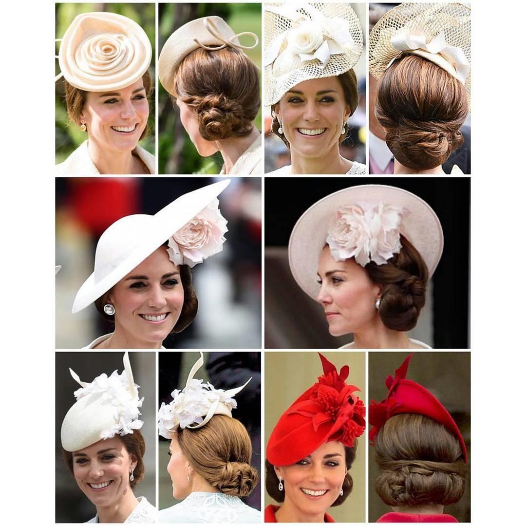 عکسهای زیبا از ست کردن کلاه و مدل مو به سبک کیت میدلتون