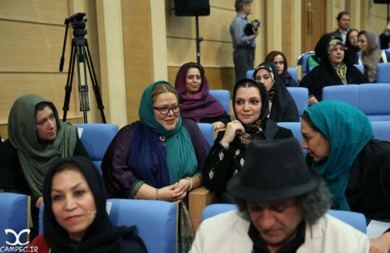 بازیگران و هنرمندان مشهور در مراسم افطاری حسن روحانی از آزاده نامداری و بهاره رهنما تا مهتاب کرامتی +تصاویر