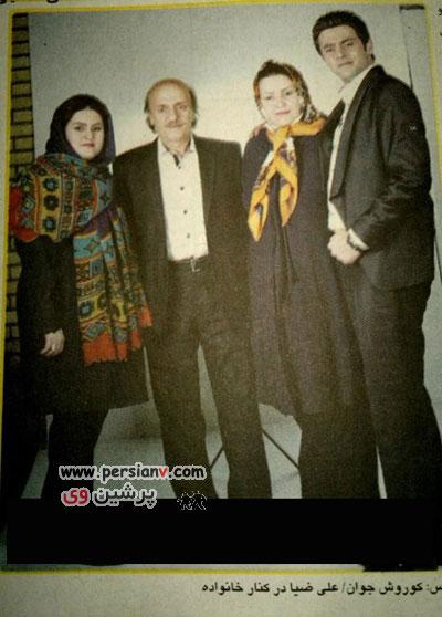 عمل جراحی پدر علی ضیا + عکس جدید پدر و مادر