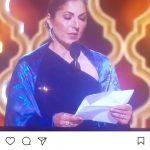 بازیگر زن هالیوود درباره مراسم اسکار نظر داد|عاشق لحظهای هستم که متن اصغر فرهادی خوانده شد+عکس