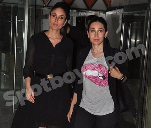 عکس بسیار زیبای کارینا کاپور در کنار خواهرش
