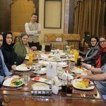 با کافه رستوران گوزن بهاره رهنما آشنا شوید / حضور افراد مشهور در رستوران بهاره رهنما +تصاویر