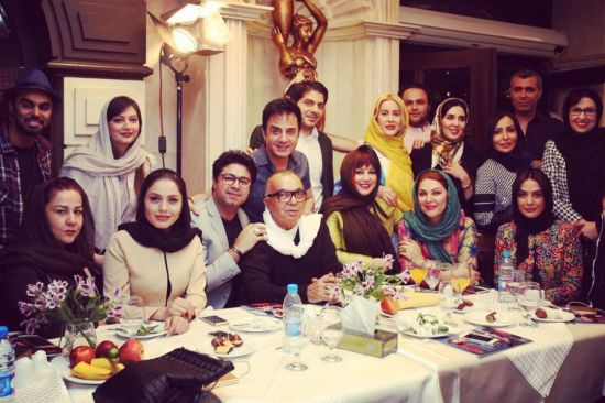 بهنوش بختياری در یک برنامه تلویزیونی از مادر شدنش خبر داد ! +فیلم و تصاویر