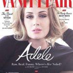 «ادل» با آرایشی نسبتا متفاوت از همیشه روی جلد مجله ونیتی فر
