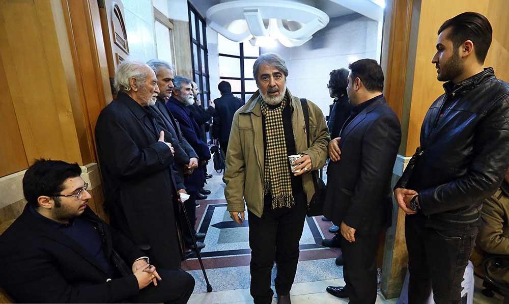 مراسم ختم زندهیاد حسن جوهرچی با حضور چهره های مشهور برگزار شد + تصاویر