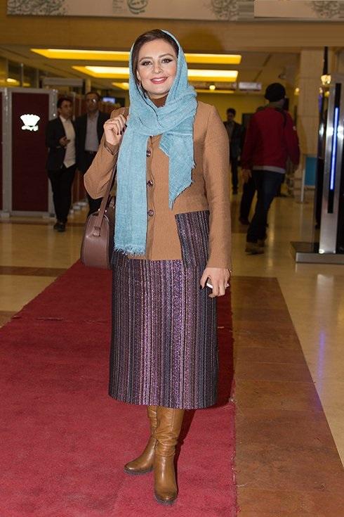 جشنواره فیلم فجر ۳۵ | مدل پالتو و مانتو بازیگران مشهور از افتتاحیه تا اختتامیه +تصاویر