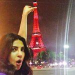 سلفی بسیار زیبای پریانکا چوپرا در پاریس