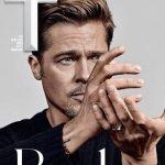 عکس جالب برد پیت روی جلد مجله استایل مردان تی وابسته به نیویورک تایمز