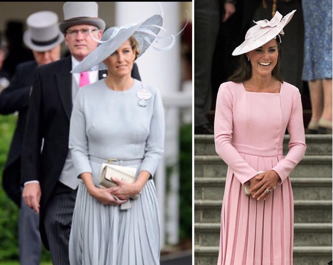 عکسی جالب از مقایسه لباس کیت میدلتون و مادر شوهرش ،پرنسس دیانا