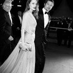 عکس و پیراهن زیبای آنجلینا جولی همراه با همسرش برد پیت
