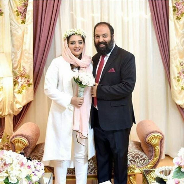 ازدواج نرگس محمدی و علی اوجی