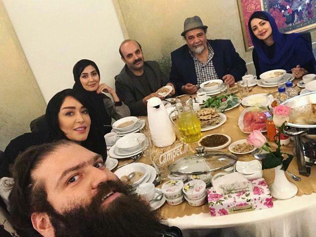 هنرمندان در ضیافت افطار رئیس جمهور