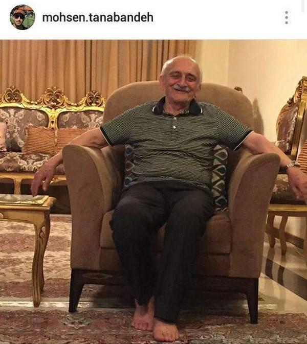 درگذشت پدر محسن تنابنده