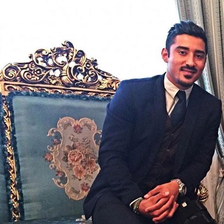 عروسی رضا قوچان نژاد در هلند