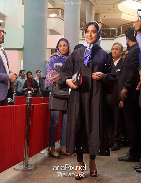 پوشش بازیگران در جشن حافظ