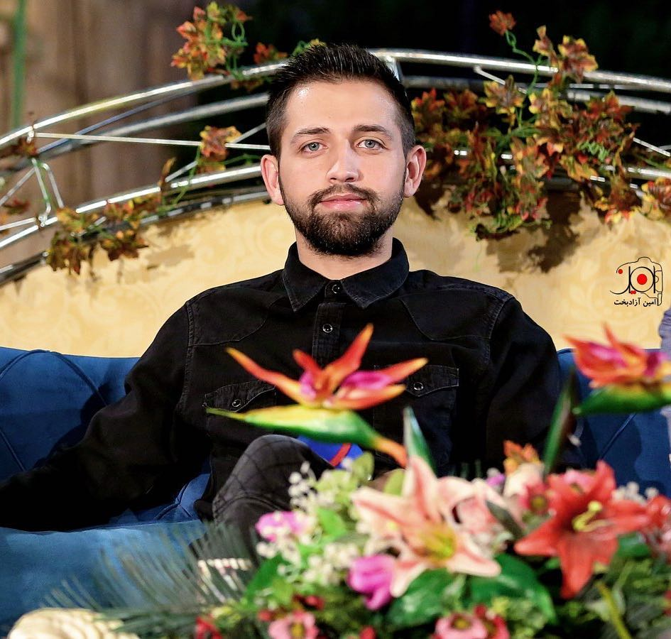 گریه محسن افشانی در تلویزیون