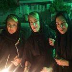 چهره های معروف در مراسم عزاداری محرم ۹۶ (۲)+ تصاویر