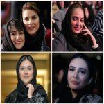 تصاویر برگزیده از بازیگران و هنرمندان در اختتامیه جشنواره فیلم فجر ۹۶