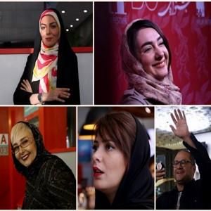 حواشی و تصاویر جذاب جشنواره جهانی فجر ۳۶ | از دست ندادن مریلا زارعی با هنرمند چینی تا کمی دعوا!