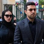 مراسم ترحیم زنده یاد ناصر چشم آذر با حضور چهره های مشهور