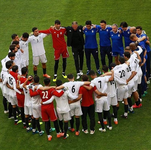 واکنش چهره ها به بازی با پرتغال