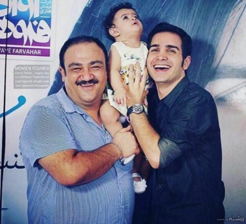 پدر شدن مهران غفوریان