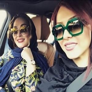 چهره ها در شبکه های اجتماعی (۵۵۴) از دعوای ژوله و ملی پوشان فوتبال تا کولی دادن مهناز افشار به دخترش