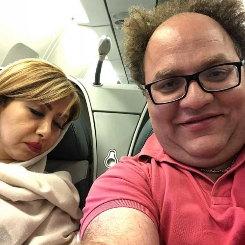 چهره ها در شبکه های اجتماعی (557) از چهره های مشهوری که به روسیه رفتند تا بهنوش طباطبایی با تیپ عروسی!