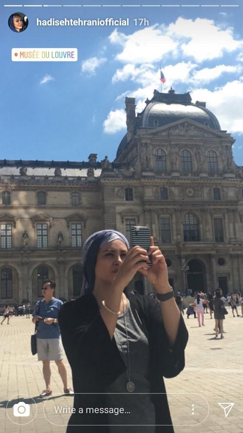 اینستاگرام هنرمندان (70) از واکنش پرستو صالحی به دختری که جلوی مسجد رقصید تا ابرازِ عشقِ آزاده نامداری!